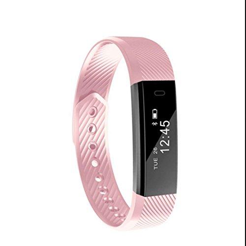 Fitness Activity Tracker Sport Armband Schrittzähler Klassische Fashion Pedometer Ringing Erinnerung wasserdichte Digital Herzfrequenz-Anzeige Schlafüberwachung Smart uhr Luxus Elegant mit iPhone und Samsung Android Geräte usw