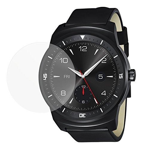 dipos I 6X Schutzfolie matt passend für LG G Watch R Folie Displayschutzfolie