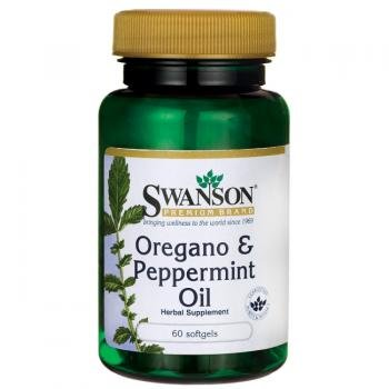 Swanson Premium Oregano & Peppermint Oil (60 Softgels) by Swanson Health Products
