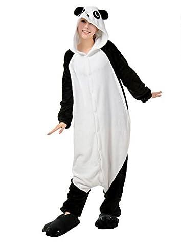 Honeystore Unisex Hoodie Geschenk Pyjamas Panda Jumpsuit Hot Party Siamesische Kleidung Schlafanzug (Selbst Gemachte Anime-kostüme)