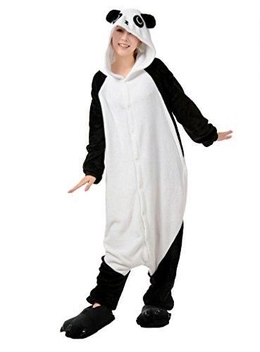 Honeystore Unisex Hoodie Geschenk Pyjamas Panda Jumpsuit Hot Party Siamesische Kleidung Schlafanzug (Erwachsene Minion Hoodie Für)