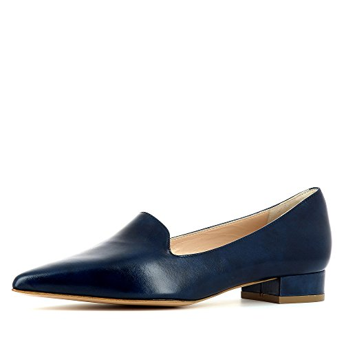 Evita Shoes Franca, Mocassini donna, blu (Blau), 36 EU