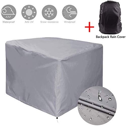JYQcatd Funda para Muebles de Exterior Cubierta Protectora de Polvo Impermeable Resistente al Desgarro...