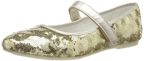 PRIMIGI Mädchen PFM 34391 Mary Jane Halbschuhe, Gold (Platino 3439111), 35 EU Ballerina Mary Janes Schuhe