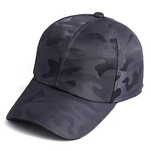 FXSYL Sommer Herren Camouflage Camo Cap Cadet Wüste Camo Hut Mesh Baseball Cap Jagd Angeln Blank Desert Hat,A1 -