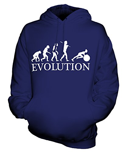 Candymix - Swiss Gym Ball Evolution Of Man - Unisex Hoodie Mens Ladies Hooded Sweater