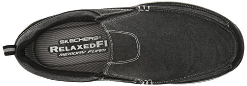 Skechers Herren Expected-Tomen Slipper Black