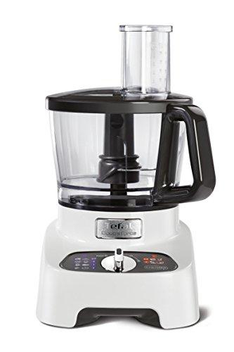 Tefal DoubleForce Pro DO8221 1000W 3L Gris, Color blanco - Robot de cocina (3 L, Gris, Blanco, Botones, Giratorio, 2 L, De plástico, Acero inoxidable)