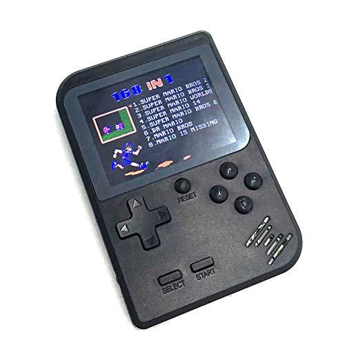 Console-De-Jeu-Portable-Machine-De-Jeu-3-Pouces-168-Jeu-Rtro-FC-Console-De-Jeu-Console-De-Jeu-Classique-USB-Charge-Enfants-Anniversaire-Cadeau-Cadeau-De-Nol-NoirBlack