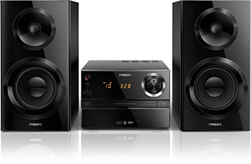 Philips btim 2360 micro sistema hi-fi, lettore cd, compatibile bluetooth, supporto mp3, nero