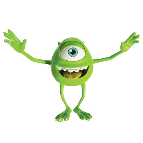 Mike Wazowski - Monster University 7 Inch Action Figure - Mike Wazowski