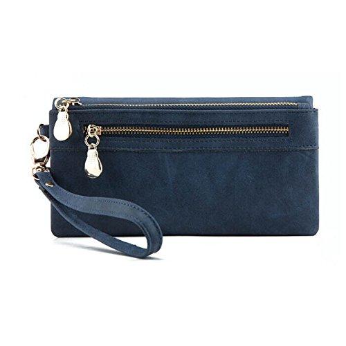 hrph-femmes-vintage-double-zipper-portefeuille-sac-a-main-polonais-mat