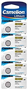 camelion knopfzellen cr1225 im 5er pack f r uhren elektronik. Black Bedroom Furniture Sets. Home Design Ideas