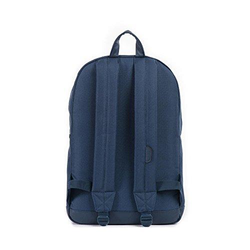 Herschel Casual Daypack (), Sac Adulte Mixte Bleu (Navy/navy Pu)