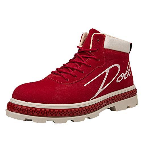 Schuhe Herren Sportschuhe Sneaker Running Wanderschuhe Outdoorschuhe Boots Stiefel Milktea Männer Ankle Boot Arbeitsschuhe Casual High-Cut Adult Walking Schuhe Turnschuhe