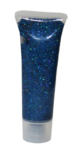 Eulenspiegel 907030 - Glitzergel Blau Juwel, 18 ml