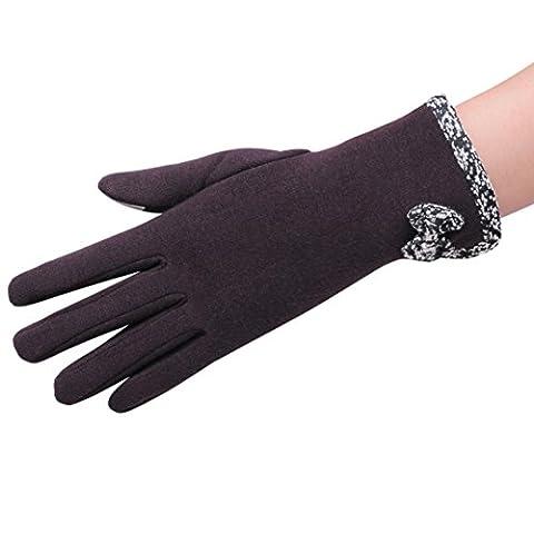 Handschuhe Transer® Frauen Winter Warm/Thermo-Touch Screen Handschuhe Ski Schnee Snowboard Bowknot Handschuhe für Motorrad Reiten/Fahren