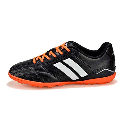FARALY Football Boot Professional Soccer Shoes Lace Up Outdoor/Indoor Sport Shoes Training Shoes Sneaker Fustal Shoes (Color : Black, Size : 41)