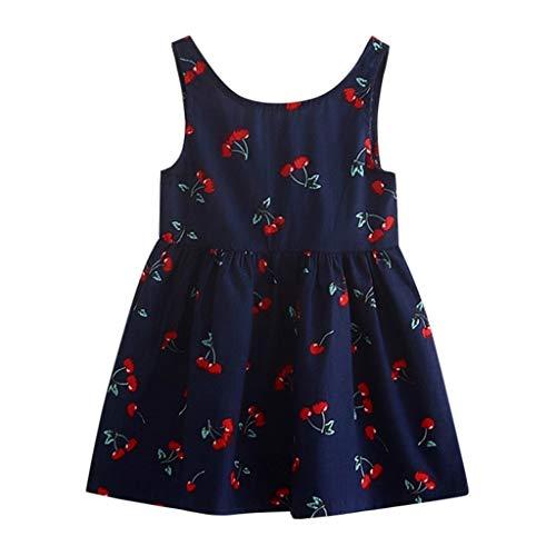 Mädchen Kleid für Kinder Prinzessin Spitzen Kleider Hochzeit Blumenmädchenkleid ()