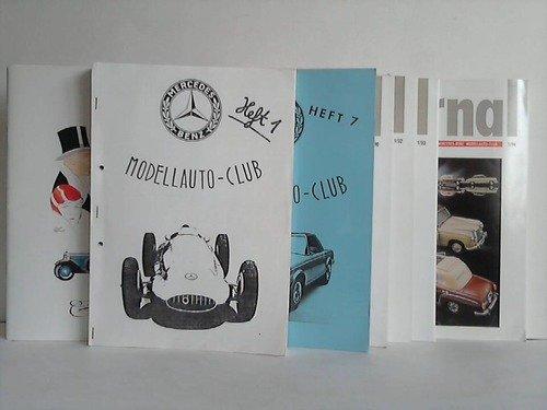 MBMC-Journal - Internationales Club-Magazin des Mercedes-Benz Modellauto-Club. Sammlung von 28 Heften