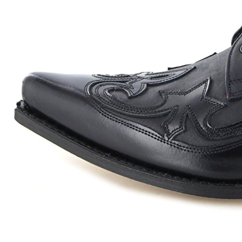 Sendra Bottes Western 10066Chaussures à lacets Noir