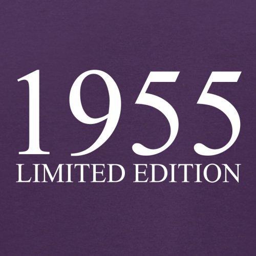 1955 Limierte Auflage / Limited Edition - 62. Geburtstag - Herren T-Shirt - 13 Farben Lila