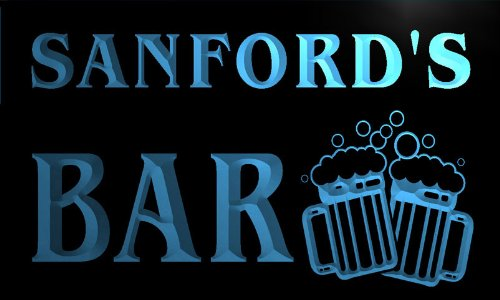 cartel-luminoso-w000888-b-sanford-name-home-bar-pub-beer-mugs-cheers-neon-light-sign
