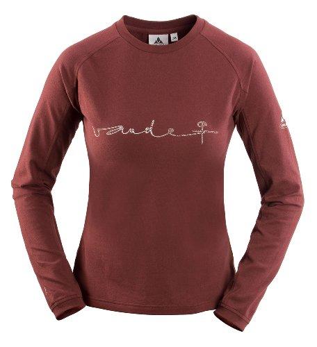 VAUDE 03919 t-shirt pour femme valuga lS Rouge - baie