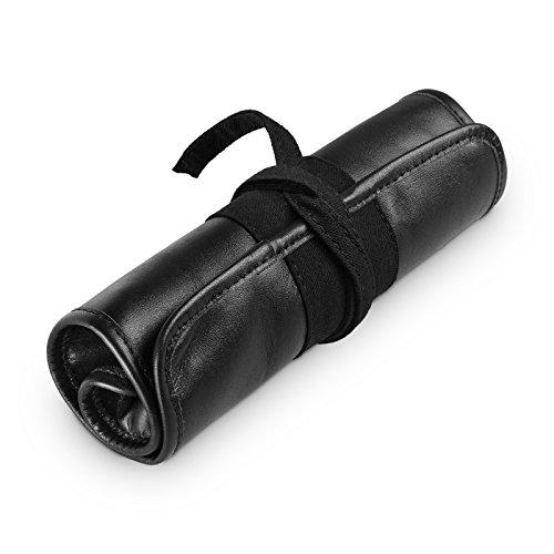 """Preisvergleich Produktbild HINTERLAND STYLES Stiftrolle """"Adama"""" (schwarz) aus echtem Leder"""