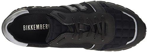 Bikkembergs 641198, Sneakers basses homme Noir (Nero)