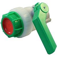 Kugelhahn DN50 mit frei drehender Alumutter (60mm) für IBC Container / Regenwassertank