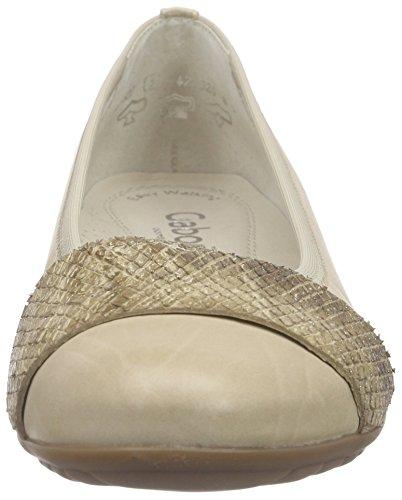 Gabor Comfort, Ballerines Femme Beige (52 silk/sand)