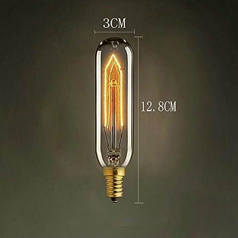 Srrit vintage T10E14Tube de 220V Creative Droplight décoratifs ampoule ou Restaurer anciennes façons Edison style