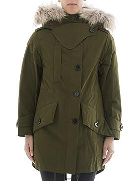 Burberry Cappotto Donna 4061018 Poliammide Verde