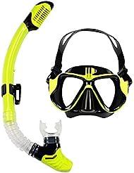 Taucherbrille mit Schnorchel für Kinder und Erwachsenen, Anti-Leck & Anti-Fog Schnorchelset Tauchset Kinder, Tauchermaske und Schnorchelrohr, ideal für Tauchen, Schnorcheln und Schwimmen