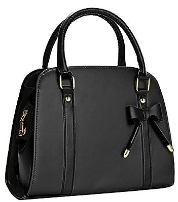 Coofit Sac à main femme grand sac bandoulière femmes Sac a main Cuir synthétique Sac femme noir sac portés mian épaule