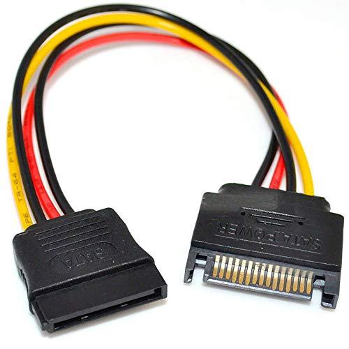 PremiumCord Stromkabel für HDD Serial ATA Verlängerung 16cm -