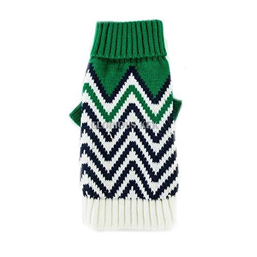 Feidaeu Pet Knit Warme Pullover für kleine mittelgroße Hunde Mops Chihuahua Strickwaren XS-XXL