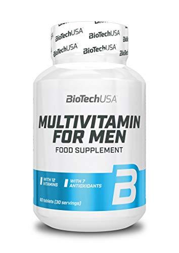 Biotech USA Multivitamin for Men, 60 Tabletten (2er Pack)