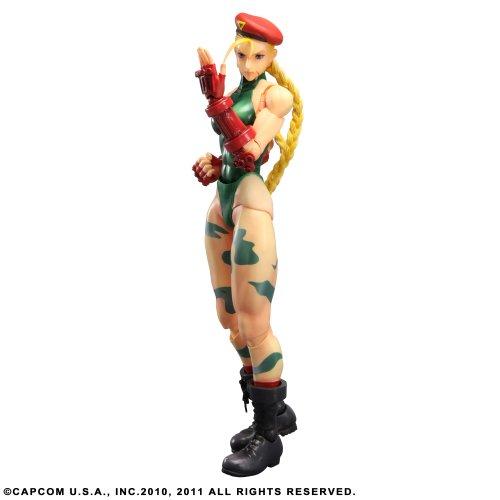 Figurine 'Super Street Fighter IV' Play Arts Kai - Cammy