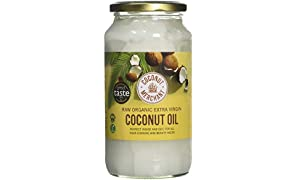 Coconut Merchant Organic Raw Extra Virgin Coconut Oil, 1 Litre
