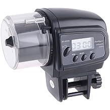 Sonline Alimentador automatico de pescado del acuario de Digitaces del tanque de peces Alimentacion Alimentador temporizador