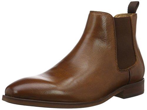 ALDO Herren Croaven Chelsea Boots, Braun (Cognac/28), 45 EU