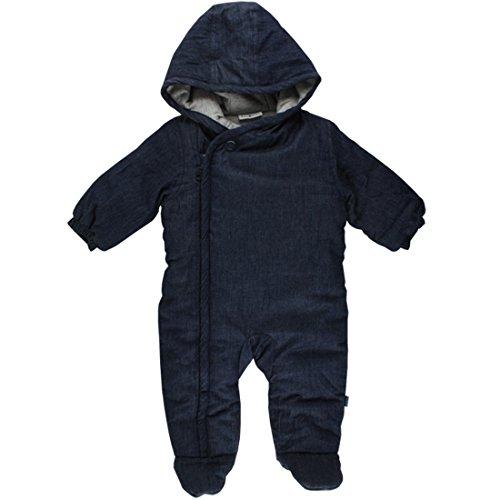 Fixoni unisex Baby Overall Schneeanzug, wattiert 100% Baumwolle, Jeansblau, Gr. 92, Dear Wholesuit Denim 32839 10-01