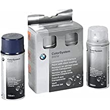 BMW pintura spray Set doble capa alpinweiss III 300