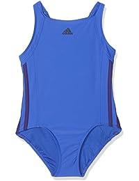 adidas Girls  Cv3647 Essence Core 3-Stripes Swimsuit 61d13275ab5ac