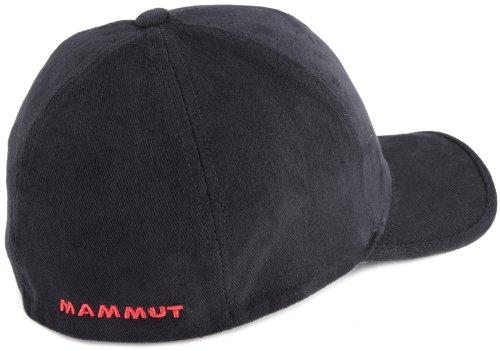 Mammut adulte casquette de baseball black-fire