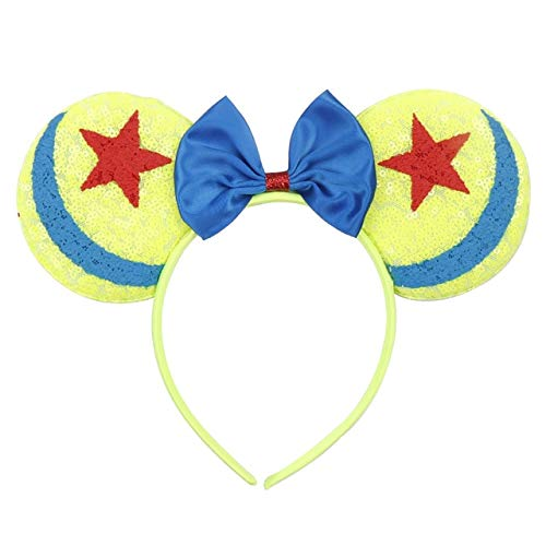 Minnie Kind Pailletten Ohren - KBWL Mädchen Haarschmuck Minnie Mouse Ohren