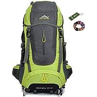Onyorhan 70L Travel Backpack Trekking Hiking Mountaineering Climbing Camping Rucksack for Men Women
