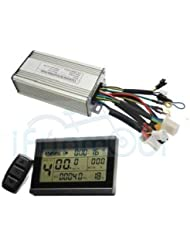 Free Shipping Silver Useful 36V 48V 200W 250W 350W 20A ebike Brushless DC 36V 250W ebike controller Regenerative Function+ebike LCD3 Display Control Panel